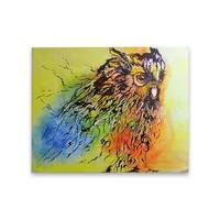 Owl Head Painting - YesNo