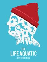 Alternative life aquatic movie poster