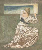 Edward Coley Burne-Jones , Dorigen de Bretaigne aw