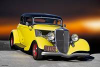 1934 Ford Five-Window Coupe I