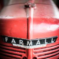 Farmall Agricultural Tractor. Art Prints & Posters by David Johnson