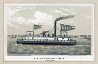 Fulton Ferry Boat  Over  by George Hayward