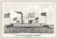 Fulton Ferry Boat Olive Branch  by George Hayward