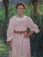 LILLA CABOT PERRY (1848-1933) BY THE BROOK, GIVERN