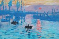 Monet, Claude Oscar Impression, Sunrise , 1873
