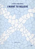 No792 My I Want to Believe minimal movie poster