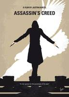 No798 My Assassins Creed minimal movie poster