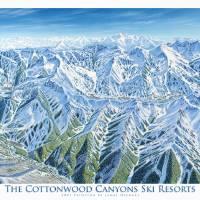 Cottonwood canyons, Utah Art Prints & Posters by James Niehues