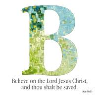 B, the Christian Alphabet