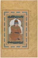 Portrait of a Dervish , Illustrated album leaf