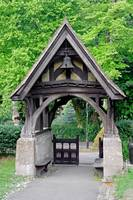 Lychgate to St Blasius Church, Shanklin