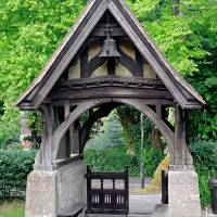 Lychgate to St Blasius Church, Shanklin Art Prints & Posters by Rod Johnson