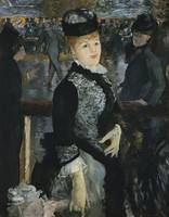 Skating by Edouard Manet