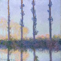 The Four Trees, Claude Monet
