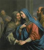 The Visitation by Philippe de Champaigne