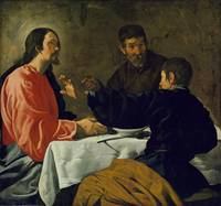 The Supper at Emmaus, Velázquez (Diego Rodríguez d