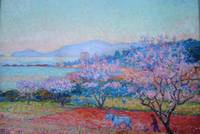 Trees in the Landscape by Theo Van Rysselberghe
