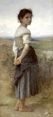 William-Adolphe Bouguereau (1825-1905) - The girl