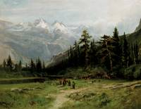 William_Keith-Glacier_Meadow_in_the_High_Sierra-SA