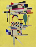Yellow Painting by Vassily Kandinsky