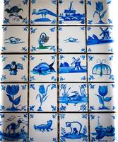 Delftblue tiles