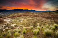 Painted Hills Sunrise by Cody York-1470