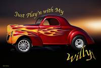 1940 Willys Coupe 'Jus Playing'