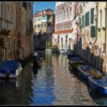 """Venice canal"" by sylviacook"