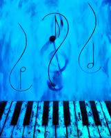 Piano Play Blue