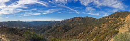 Santa Monica Mountains Panorama