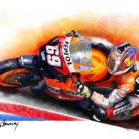 """Nicky Hayden ""The Kentucky Kid"""" by ArnoldyDesign"