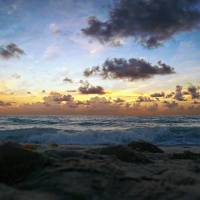 Dawn of a New Day Seascape Sunrise 141A Art Prints & Posters by Ricardos Creations