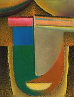 Abstract Head,  Africa by Alexei Jawlensky