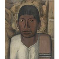 Alfredo Ramos Martínez (1872-1946) CHILD WITH MEXI
