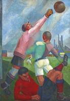 Angel Zarraga (Mexican 1886-1946) PLAYERS IN THE P