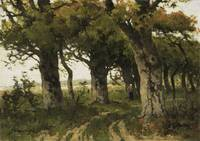 Avenue of Oaks in Late Summer, Maria Bilders-van B
