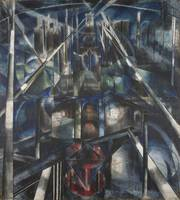 Brooklyn Bridge by Joseph Stella
