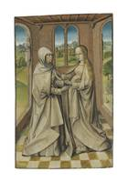 Bruges School The Visitation, 1475