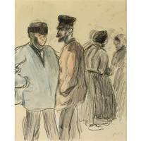 Camille Pissarro 1830-1903 CHARACTERS GROUP MARKET