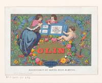 Business card paper trade Olin Brussels, Gustave J