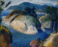 California Headlands by George Bellows, 1917