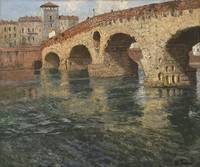 Thaulow, Frits (1847-1906) riverscape