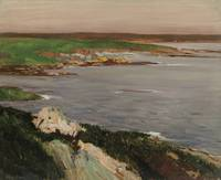John Sloan - Lookout, Green and Orange Cliffs - ci