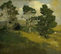 Monterey Pines by Arthur Frank Mathews