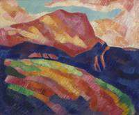 Mont Sainte-Victoire by Marsden Hartley