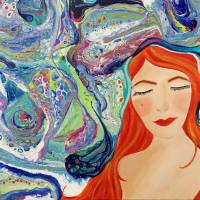 Pervasive Thoughts Art Prints & Posters by Juli Cady Ryan