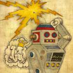 """Robot Rock"" by luther"
