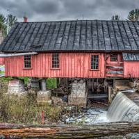 Old Mill Boards Art Prints & Posters by Richard Bean
