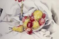 Pears and Plums, 1924 by Charles Demuth