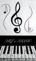 ART is MUSIC - Black Notes